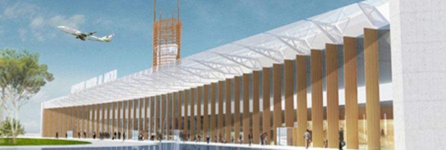 Illustration of the Nador airport project