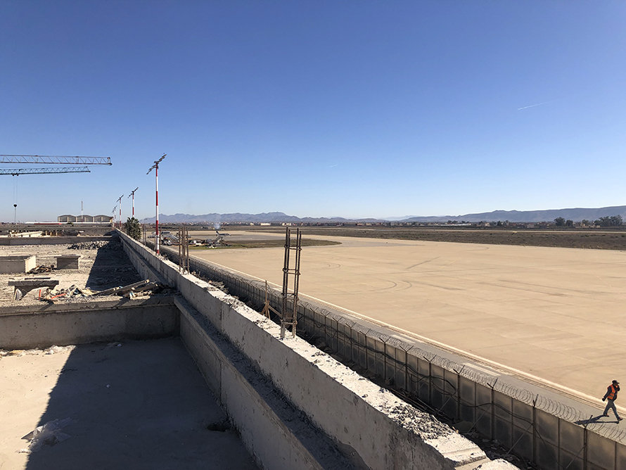 Construction of Nador airport